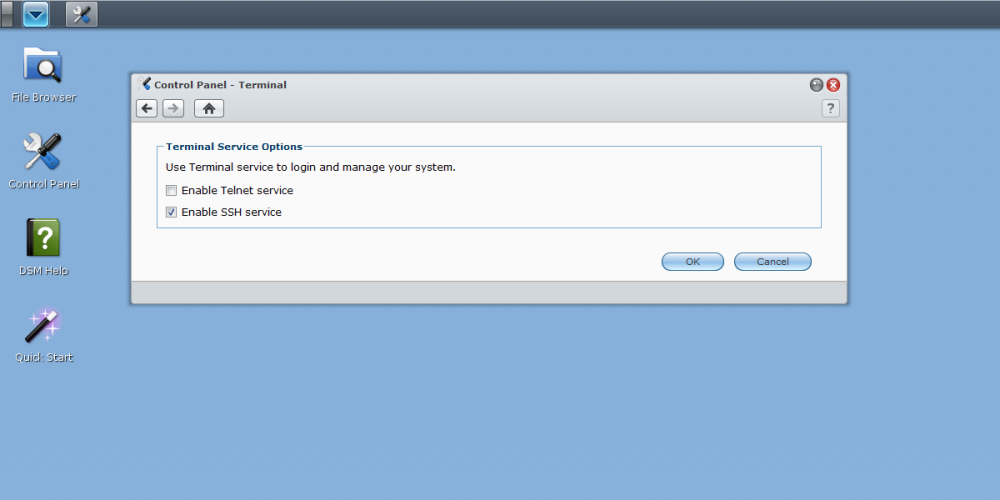 How to install compiled programs on a Synology NAS (3/3)