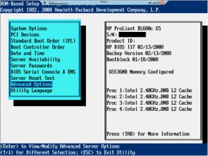 RBSU 1 Serial Number