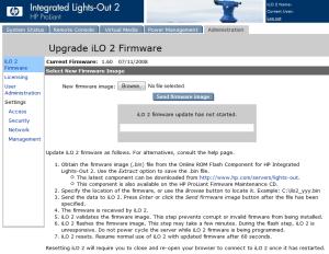 iLO 2 Firmware
