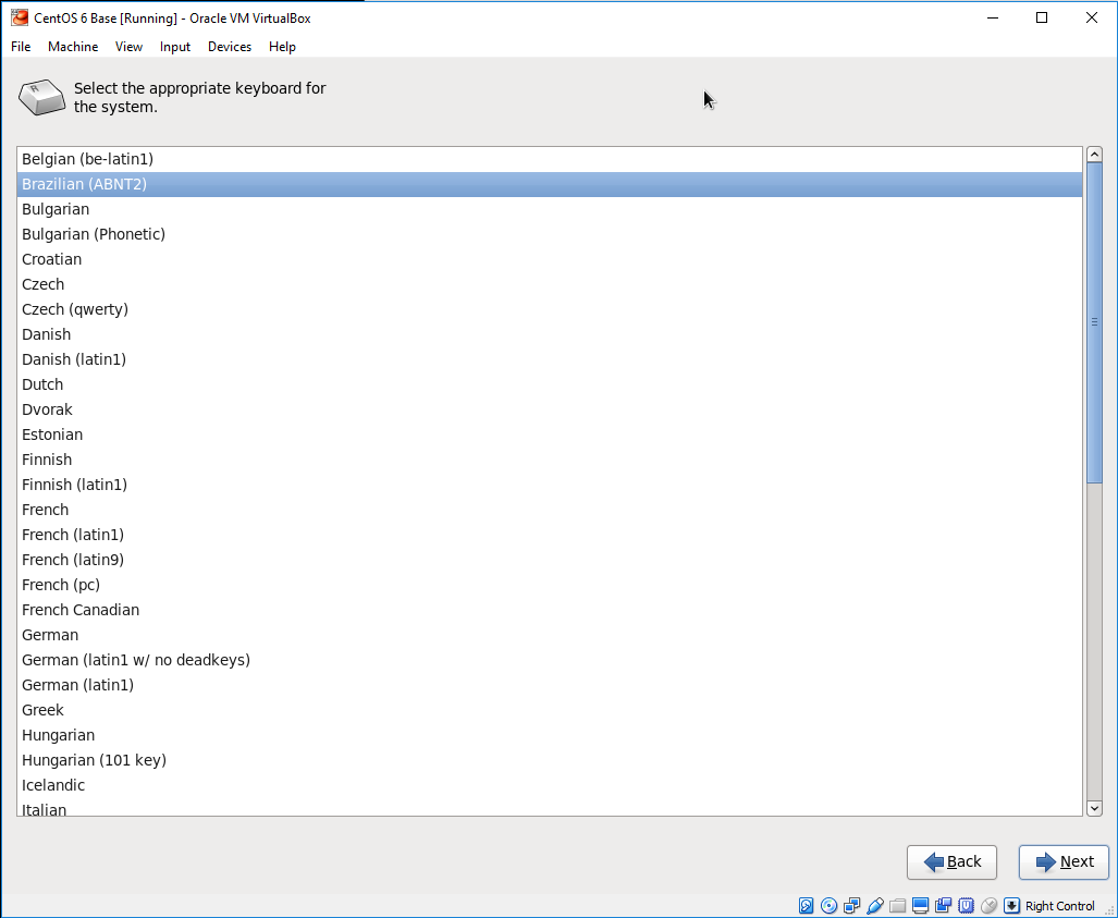 Installing Linux on Oracle Virtualbox – CentOS 6 | setaOffice
